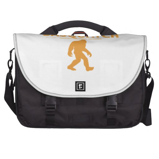 Orange Genuine Sasquatch Laptop Messenger Bag