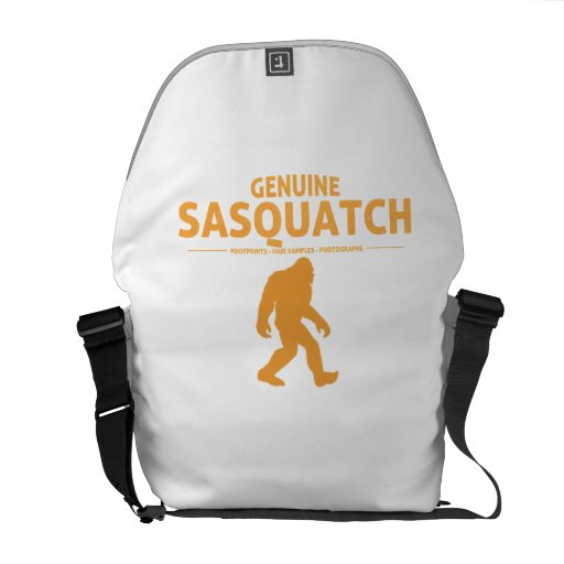 Orange Genuine Sasquatch Messenger Bag