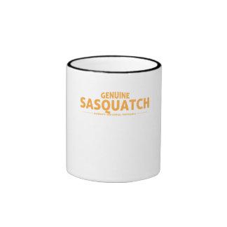 Orange Genuine Sasquatch Ringer Coffee Mug