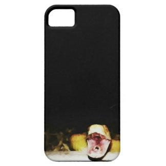 Orange geometric corn snake iPhone SE/5/5s case