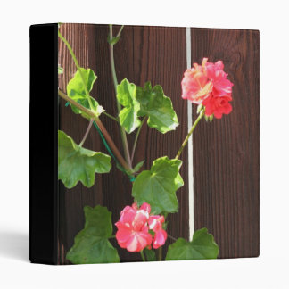 Orange Geraniums binder