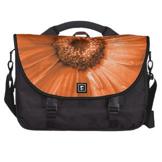 Orange Gerbera Daisy Bags For Laptop