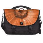 Orange Gerbera Daisy Laptop Bags