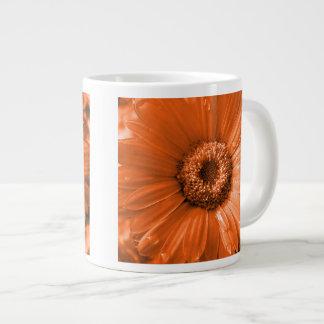 Orange Gerbera Daisy Large Coffee Mug