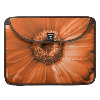 Orange Gerbera Daisy MacBook Pro Sleeve