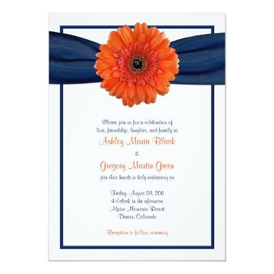 Gerbera Wedding Invitations