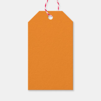 Orange Pack Of Gift Tags