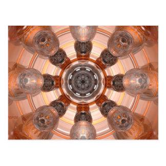 Orange Glass Postcard
