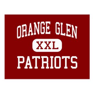Orange Glen - Patriots - High - Escondido Postcard