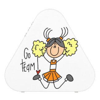 Orange Go Team Cheerleader Speaker