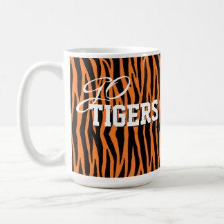 Orange Go Tiger Stripes Mug Cup