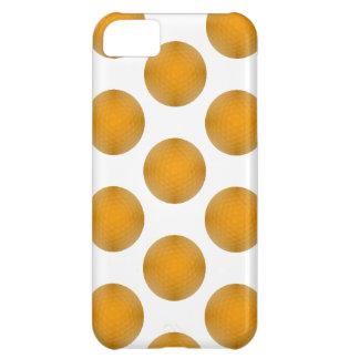 Orange Golf Ball Pattern Case For iPhone 5C