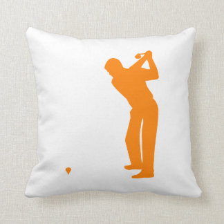 Orange Golf Pillows