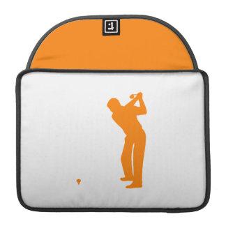 Orange Golf Sleeve For MacBook Pro