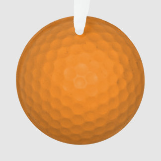 Orange Golfball