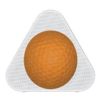 Orange Golfball Bluetooth Speaker
