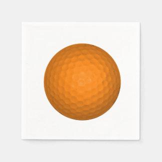 Orange Golfball Napkin