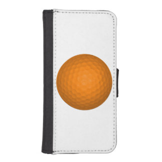 Orange Golfball iPhone 5 Wallets