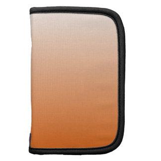 Orange Gradient Folio Planners