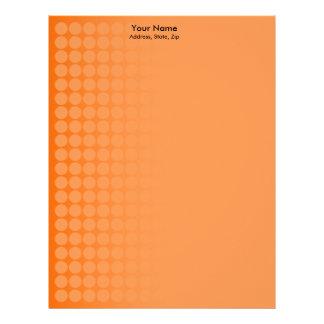 Orange gradient spots 2 letterhead