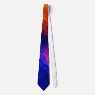 Orange Gradient To Purple Tie