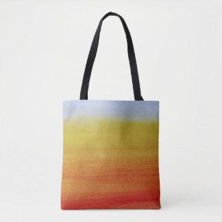 Orange Gradient Tote Bag