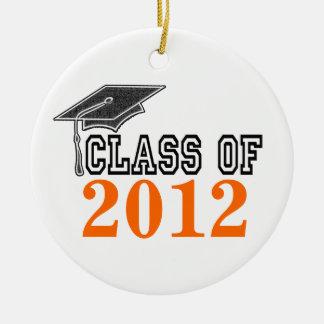 Orange Graduating Class of 2012 Ornament