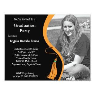 Graduation Open House Invitations Announcements Zazzle