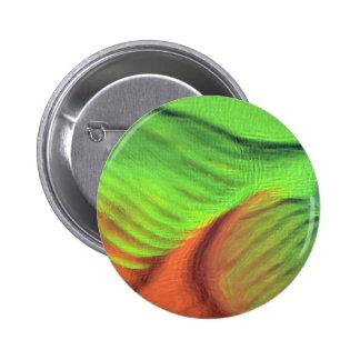 Orange-green blue swells pin