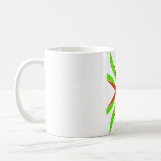 Orange & Green Coffee Mug