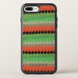 Orange Green Knit Crochet Black Lace OtterBox Symmetry iPhone 8 Plus/7 Plus Case