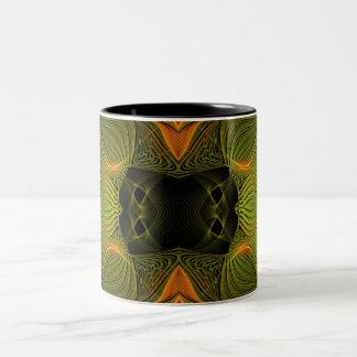 Orange Green Mug
