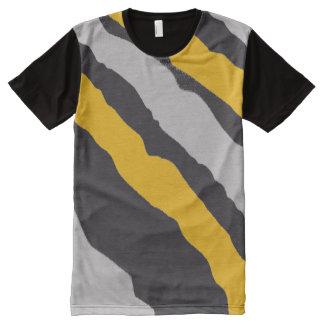 Orange & Grey Leopard Shirt