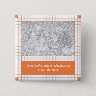 Orange Grid Photo Button