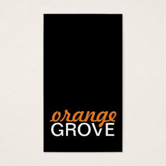 orange grove punch card