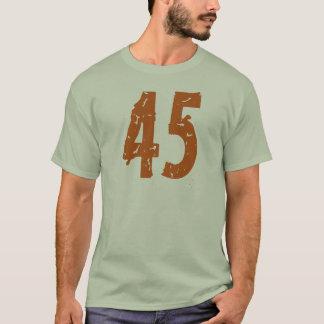 ORANGE GRUNGE STYLE NUMBER 45 T-Shirt