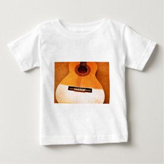 Orange Guitar Baby T-Shirt