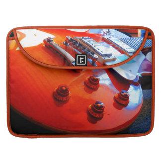 Orange Guitar MacBook Pro Sleeve