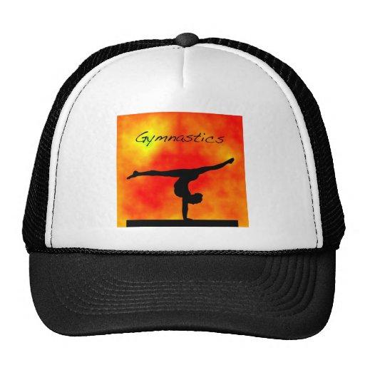 Orange Gymnastics Hat