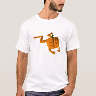 Orange Halloween Frog T-Shirt