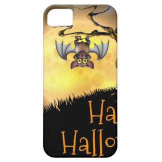 Orange Halloween Vampire Bat Background iPhone SE/5/5s Case