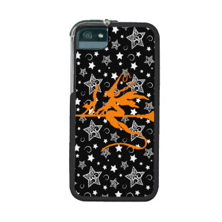 Orange Halloween Witch Cover For iPhone 5/5S