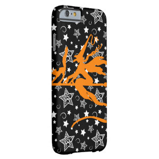Orange Halloween Witch Barely There iPhone 6 Case