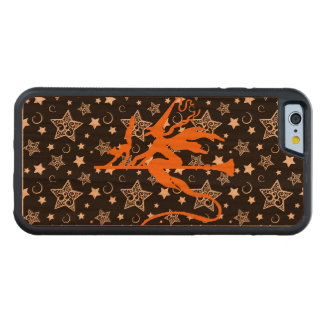 Orange Halloween Witch Carved® Cherry iPhone 6 Bumper