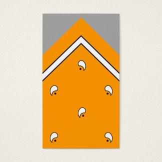 Orange Hanky Trick Card / Business Card