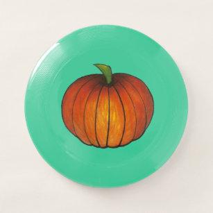 Orange Harvest Pumpkin Halloween Thanksgiving Fall Wham-O Frisbee 80eaa04c6d89