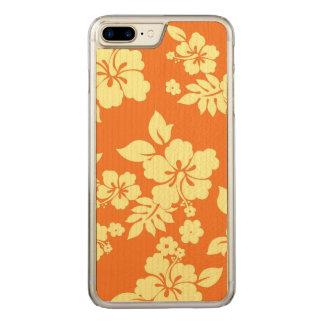 Orange Hawaiian Carved iPhone 8 Plus/7 Plus Case