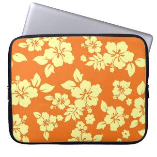 Orange Hawaiian Laptop Sleeve
