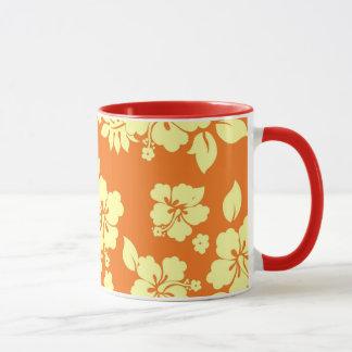 Orange Hawaiian Mug