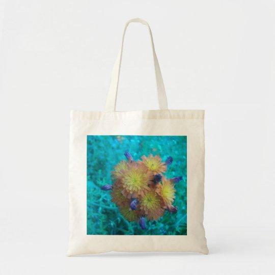 Orange Hawkweed Clusters Tote Bag